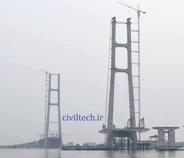 پل کابلی جیوجیانگ شاهراه فوین (Jiujiang Fuyin Expressway Bridge)