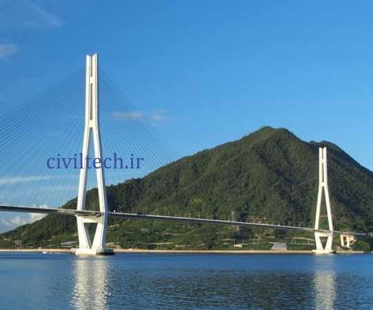پل کابلی تاتارا (Tatara Bridge)