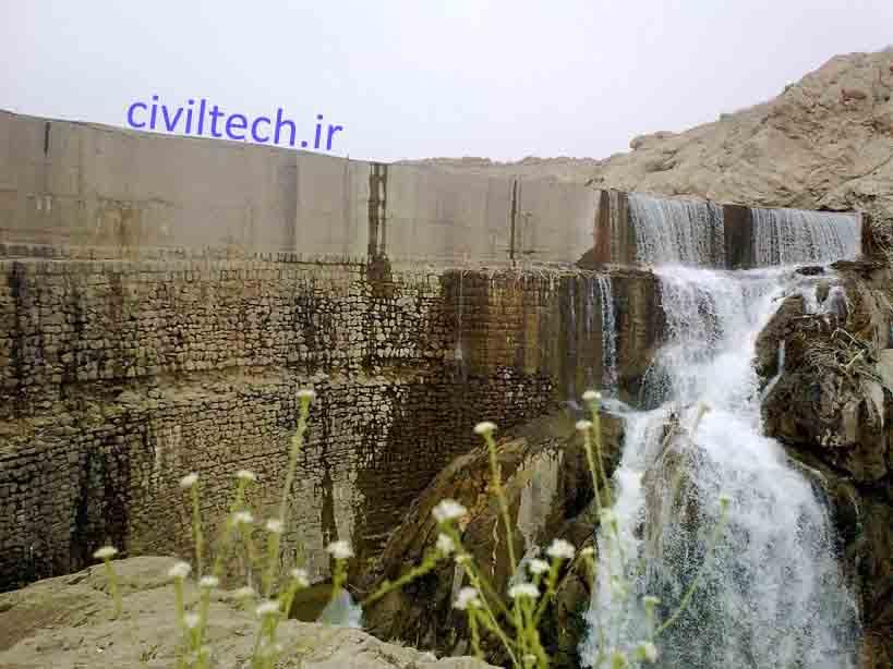 سد قوسی کبار اولین سد قوسی جهان