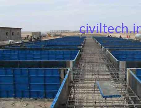 قالب بندی فونداسیون در روش قالب تونلی
