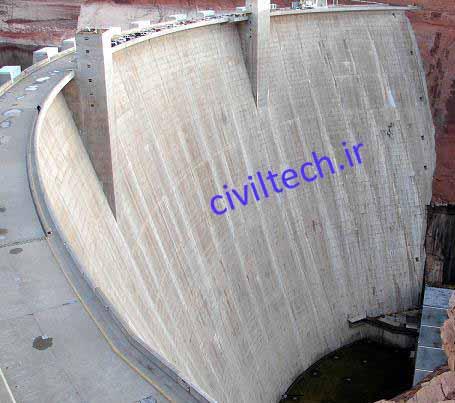 سد قوسی arch dam