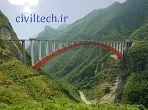 پل قوسی سایجنگهی (Zhijinghe River Bridge)