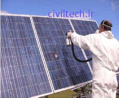 استفاده از سلول های خورشیدی در جهت تامین انرژی مورد نیاز