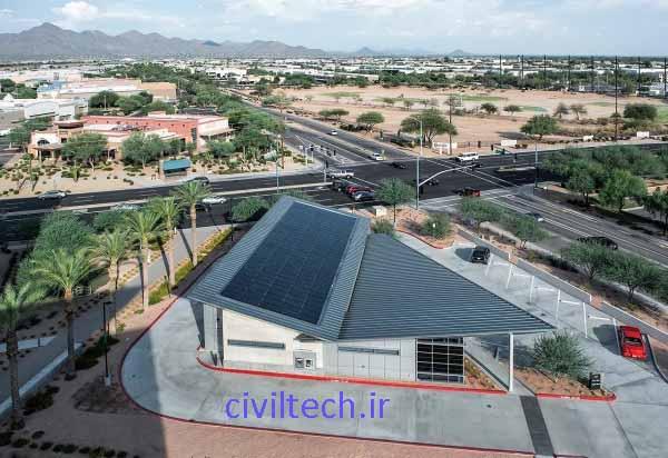 استفاده از سلول های خورشیدی بر روی سقف ساختمان های امروزی