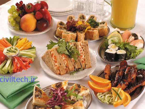 خوراکی ها مناسب ترین محل برای رشد میکروب ها و انتشار آلودگی هستند