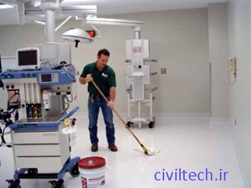 استفاده از پوشش های آنتی باکتریال در کف و دیوار بیمارستان ها موجب استریل بودن این سطوح می شود