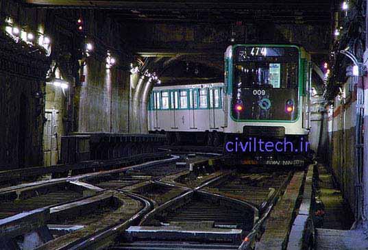 سیستم حمل و نقل عمومی پاریس، فرانسه