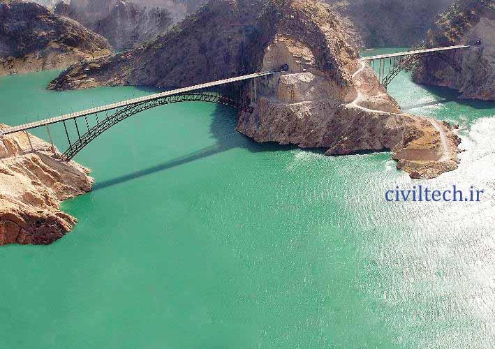 پل های زیر قوسی کارون 3