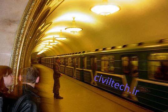 سیستم حمل و نقل عمومی  مسکو ، روسیه