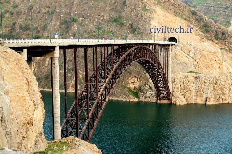 پل های قوسی کارون 3