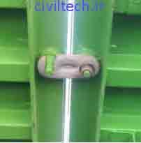قلاب اتصال قالب تونلی