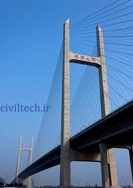 پل کابلی مینپو (Minpu Bridge)