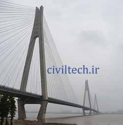 پل کابلی ارکی یانگتز (Erqi Yangtze River Bridge)