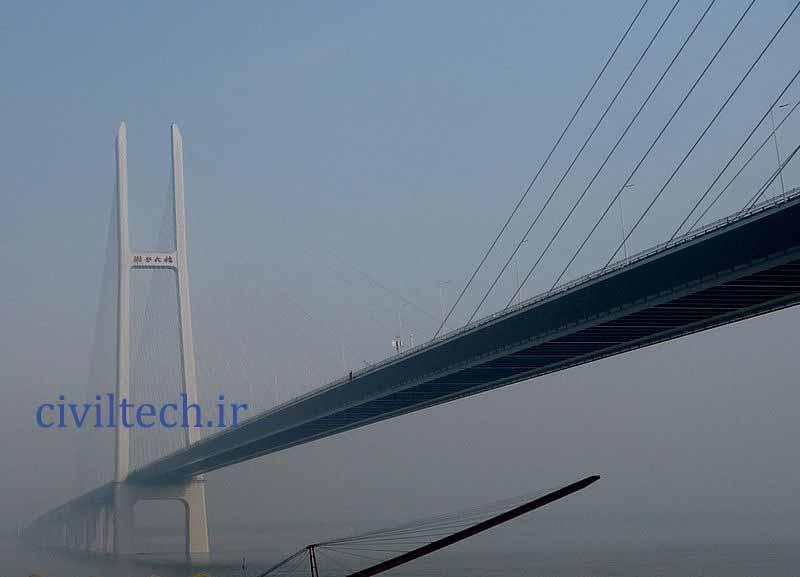 پل کابلی جینگو (Jingyue Bridge)