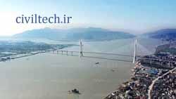 پل کابلی لانگی مین ( Langqi Min River Bridge)