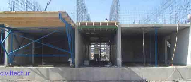 قالب تونلی کلاسیک TRTF (قالب تونلی مدولار)