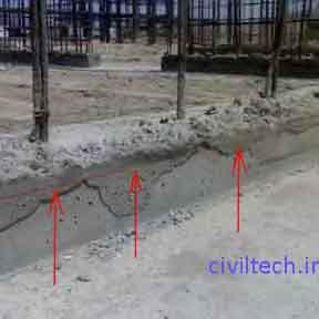 مشخص کردن کد های ارتفاعی قالب تونلی