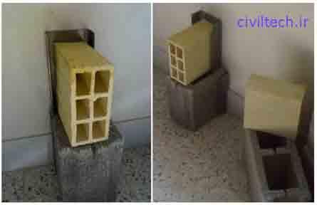 دو نوع بلوک مورد استفاده در دیوار چینی