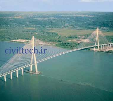 پل کابلی پونت د نرماندی (Pont de Normandie)