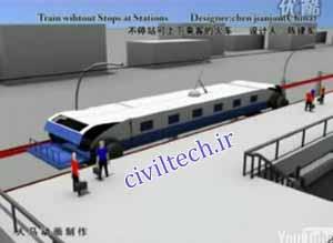 قطار بدون توقف چینی